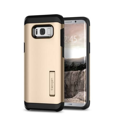 Spigen SGP Tough Armor Samsung Galaxy S8+ Gold Maple hátlap tok