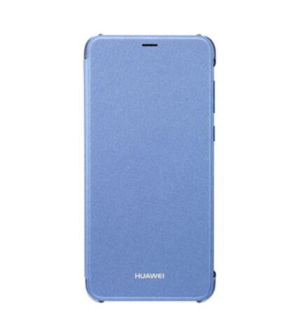 Huawei P Smart, gyári flip tok, kék
