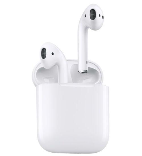 Apple AirPods MRXJ2ZM Bluetooth Headset vezeték nélküli töltő tokkal, fehér, 2. generáció
