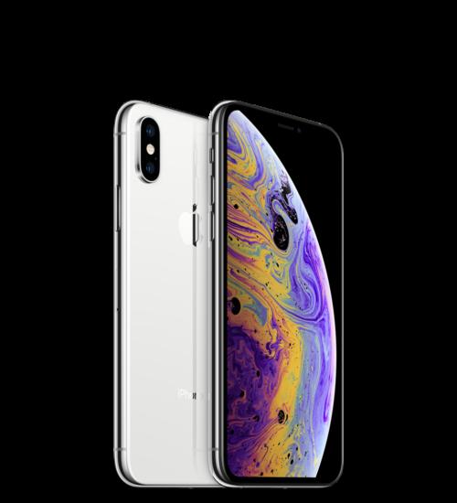 Apple iPhone XS 512GB ezüst, Kártyafüggetlen, 1 év Gyártói garancia