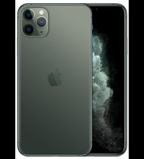 Apple iPhone 11 Pro Max 64GB zöld, Kártyafüggetlen, 1 év Gyártói garancia