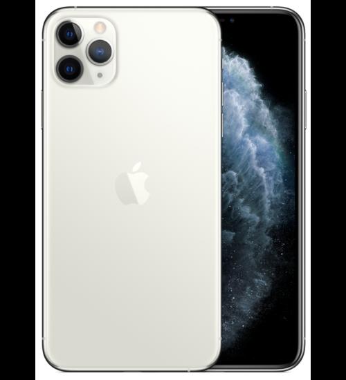 Apple iPhone 11 Pro Max 512GB ezüst, Kártyafüggetlen, 1 év Gyártói garancia