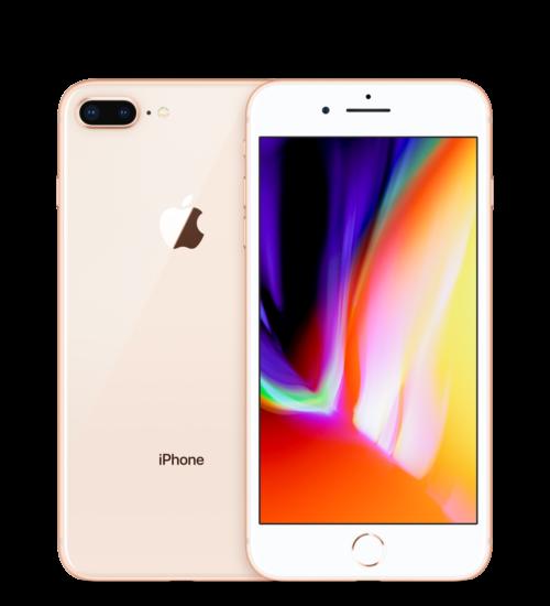 Apple iPhone 8 Plus 256GB arany, Kártyafüggetlen, 1 év Gyártói garancia