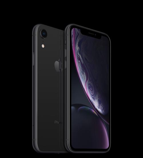 Apple iPhone XR 128GB fekete, Kártyafüggetlen, 1 év Gyártói garancia
