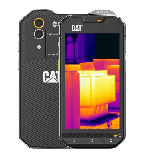 Caterpillar S60 32GB Dual SIM fekete, Kártyafüggetlen, 1 év gyártói garancia