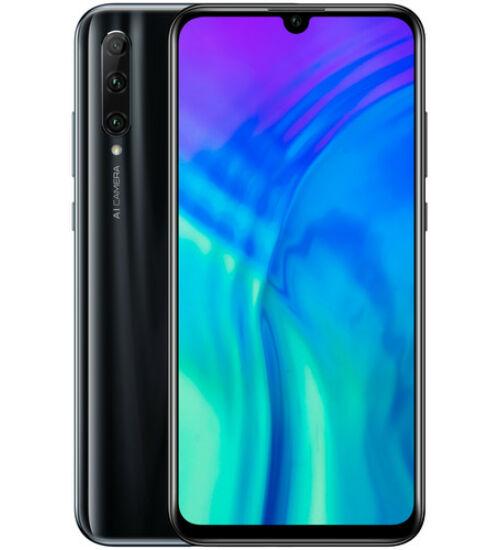 Honor 20 Lite 128GB Dual SIM fekete, Kártyafüggetlen, 2 év Gyártói garancia