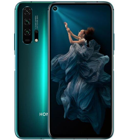 Honor 20 Pro 256GB Dual SIM kék, Kártyafüggetlen, 2 év Gyártói garancia