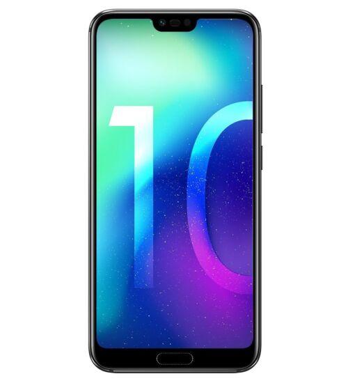 Honor 10 64GB Dual SIM Fekete, Kártyafüggetlen, 2 év Gyártói garancia
