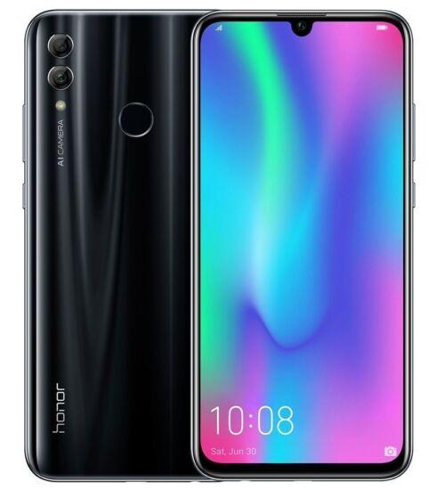 Honor 10 Lite 64GB Dual SIM fekete, Kártyafüggetlen, 2 év Gyártói garancia