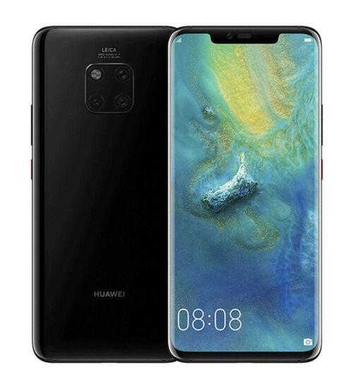 Huawei Mate 20 128GB fekete, Kártyafüggetlen, 2 év Gyártói garancia