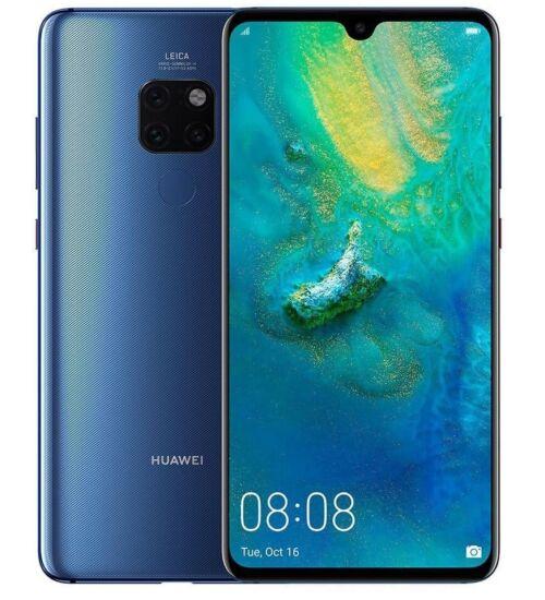 Huawei Mate 20 Pro 128GB Dual SIM, kék, Kártyafüggetlen, 2 év Gyártói garancia