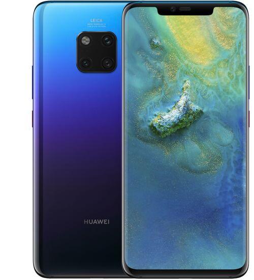 Huawei Mate 20 Pro 128GB  alkonyat lila, Kártyafüggetlen, 2 év Gyártói garancia