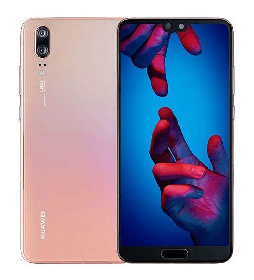 Huawei P20 128GB Dual SIM rózsaszín, Kártyafüggetlen, 2 év Gyártói garancia