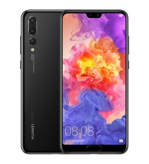 Huawei P20 128GB Dual SIM éjfekete, Kártyafüggetlen, 2 év Gyártói garancia
