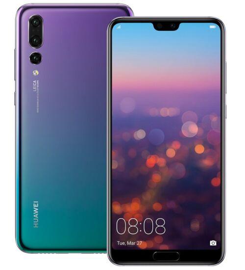 Huawei P20 64GB Dual SIM twilight, Kártyafüggetlen, 2év Gyártói garancia