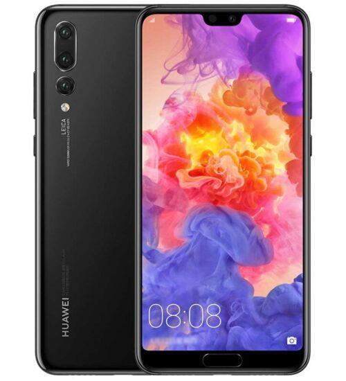 Huawei P20 Pro 128GB Fekete, Kártyafüggetlen, 2 év Gyártói garancia