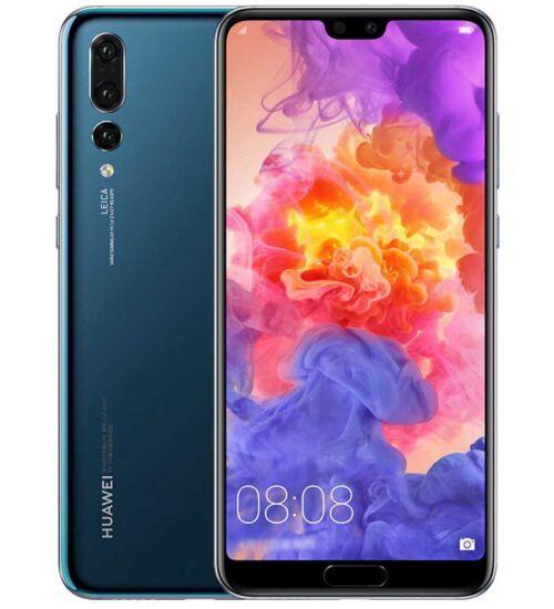 Huawei P20 Pro 128GB, Dual Sim, kék, Kártyafüggetlen, 2 év Gyártói garancia