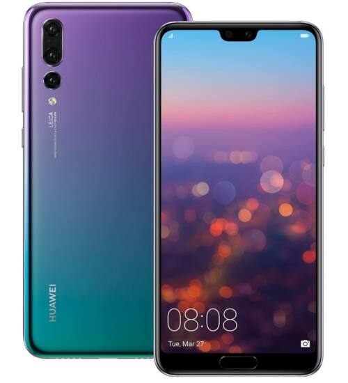 Huawei P20 Pro 128GB, Dual Sim, twillight, Kártyafüggetlen, 2 év Gyártói garancia