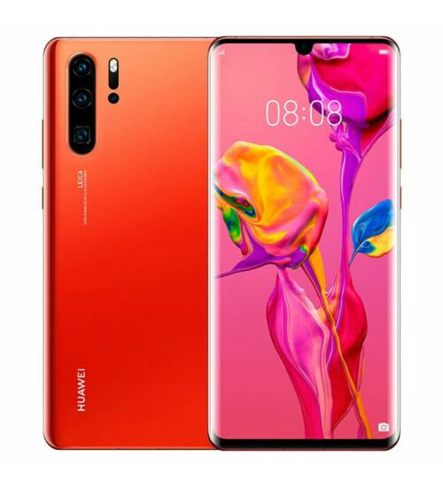 Huawei P30 Pro 128GB 8GB Dual SIM, napkelte narancs, Kártyafüggetlen, 2 év Gyártói garancia