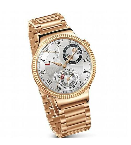 Huawei Watch 42mm okosóra aranyszínű rozsdamentes acél váz és pánt