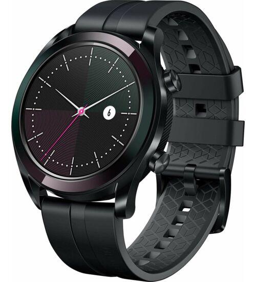 Huawei Watch GT Elegant fekete okosóra, 1 év Gyártói garancia