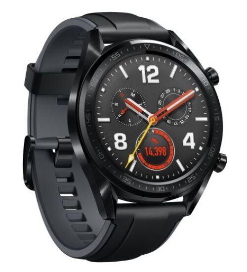 Huawei Watch GT Sport fekete, 1 év Gyártói garancia