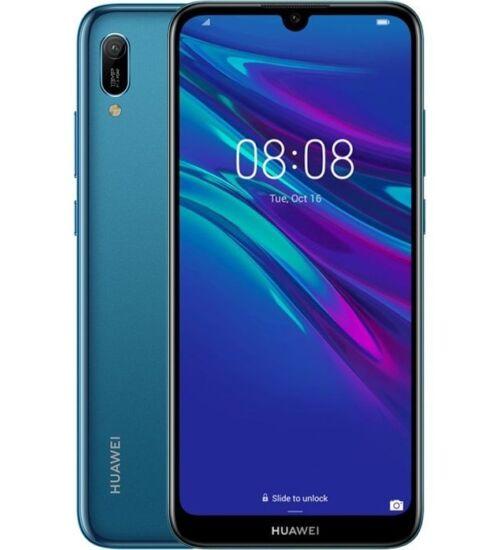 Huawei Y6 (2019) 32GB Dual SIM kék, Kártyafüggetlen, 2év Gyártói garancia