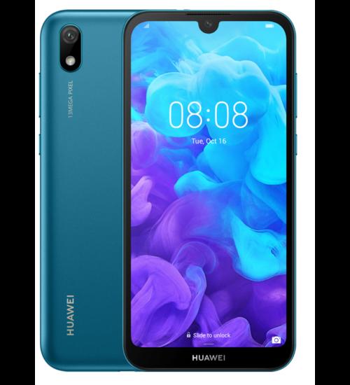 Huawei Y5 (2019) 16GB 2GB Dual SIM kék, Kártyafüggetlen, 2 év Gyártói garancia