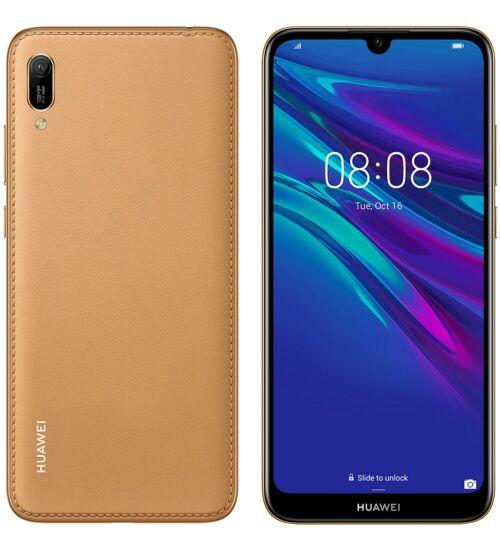 Huawei Y6 (2019) 32GB Dual SIM barna, Kártyafüggetlen, 2 év Gyártói garancia