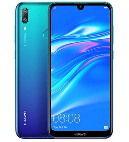 Huawei Y7 32GB (2019) Dual SIM kék, Kártyafüggetlen, 2év Gyártói garancia