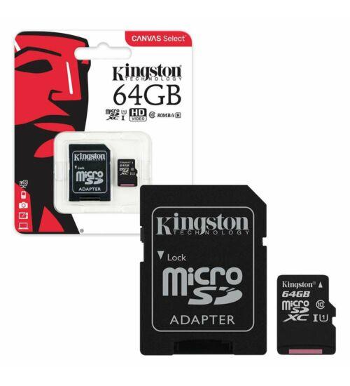Kingston Micro SD 64GB Class10