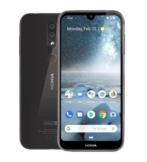 Nokia 4.2 32GB Dual SIM fekete, Kártyafüggetlen, 1 év teljes körű garancia