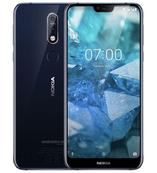 Nokia 7.1 32GB Dual Sim kék, Kártyafüggetlen, 1 év Gyártói garancia