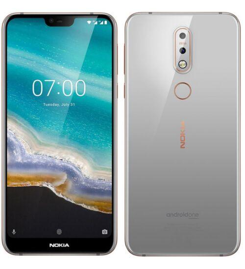 Nokia 7.1 32GB Dual Sim szürke, Kártyafüggetlen, 1 év Gyártói garancia