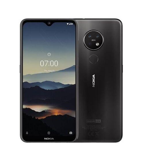 Nokia 7.2 128GB 6GB Dual Sim fekete, Kártyafüggetlen, 1 év Gyártói garancia