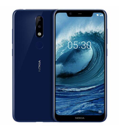 Nokia 8.1 64GB Dual SIM kék, Kártyafüggetlen, 1 év Gyártói garancia