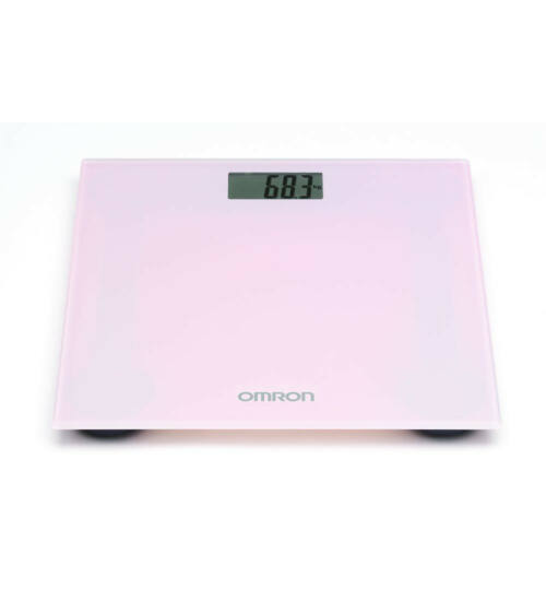 Omron HN-289 személymérleg-rózsaszín