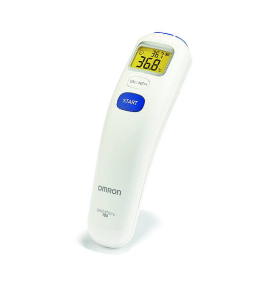 Omron MC 720 GentleTemp érintés nélküli homloklázmérő 3in1