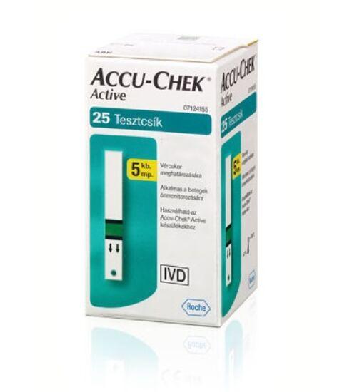 Accu-Chek Active 25x tesztcsík