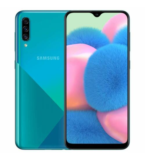 Samsung A307 Galaxy A30S 64GB Dual Sim zöld, Kártyafüggetlen, 1 év Gyártói garancia