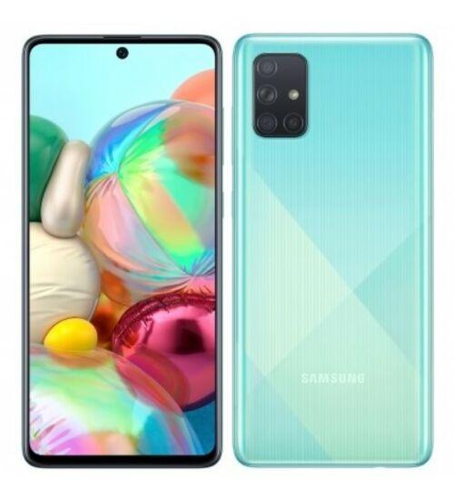 Samsung Galaxy A51, (A515) Dual Sim 128GB, kék, 1 év gyártói garancia