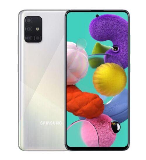 Samsung Galaxy A71 (A715) 6GB 128GB Dual SIM ezüst, Kártyafüggetlen, 1 év Gyártói garancia