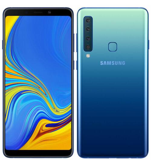 Samsung A920F Galaxy A9 (2018) 128GB Dual SIM, kék, Kártyafüggetlen, 1 év Gyártói garancia