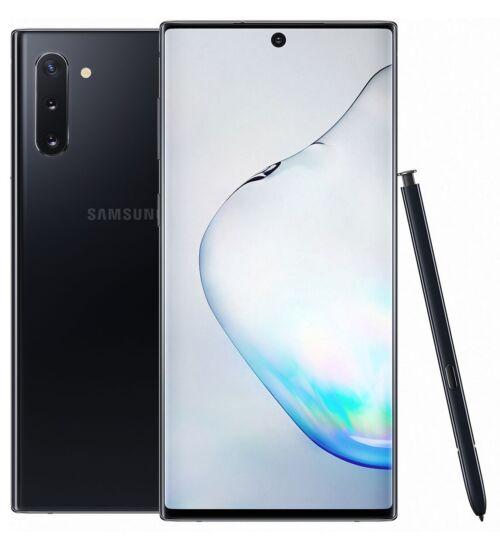 Samsung Galaxy Note 10+ N975 Dual SIM 256GB 12GB Prizma fekete, Kártyafüggetlen, 1 év Gyártói garancia