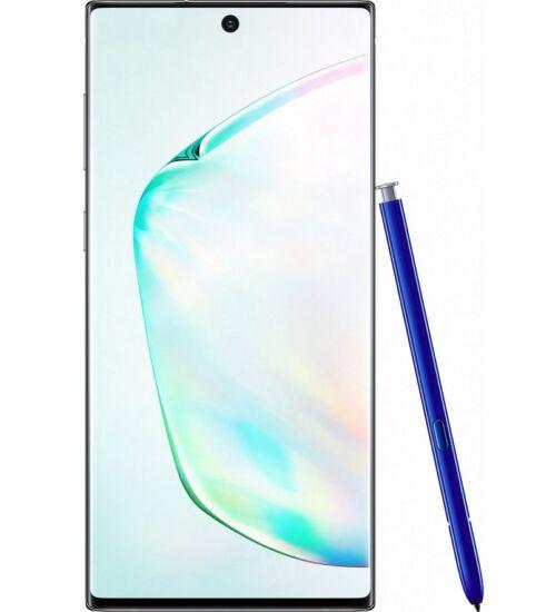 Samsung Galaxy Note 10+ N975 Dual SIM 256GB 12GB Fénylő Prizma, Kártyafüggetlen, 1 év Gyártói garancia