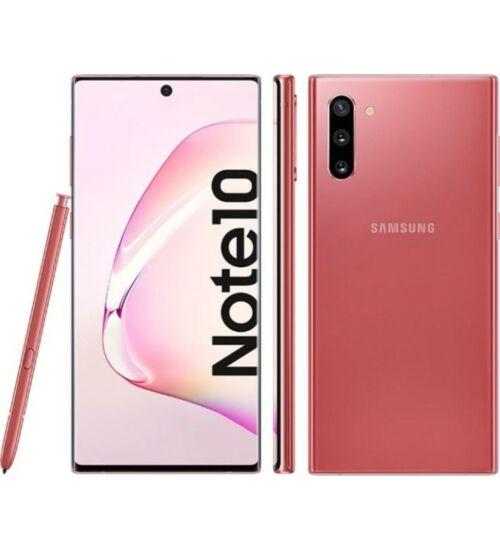 Samsung Galaxy Note 10 N970 Dual SIM 256GB 8GB rózsaszín, Kártyafüggetlen, 1 év Gyártói garancia