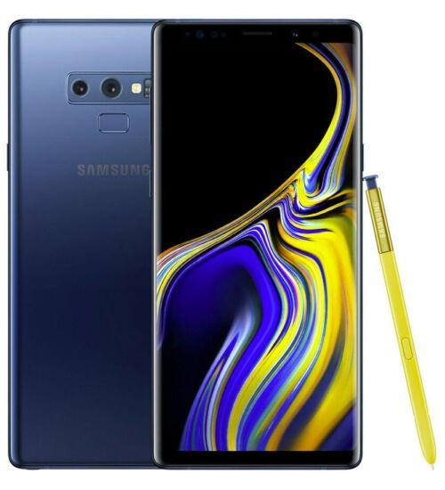 Samsung Galaxy Note 9 N960 512GB, kék, Kártyafüggetlen, 1 év Gyártói garancia