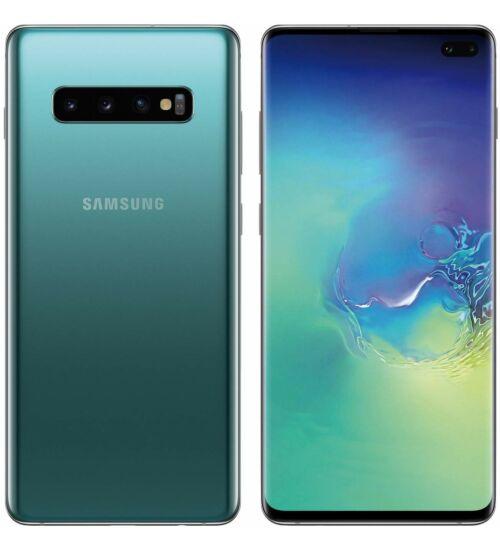 Samsung G975F Galaxy S10+ 128GB Dual Sim zöld, Kártyafüggetlen, 1 év Gyártói garancia
