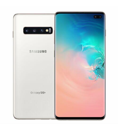 Samsung G975F Galaxy S10+ 512GB Dual Sim, fehér, Kártyafüggetlen, 1 év Gyártói garancia