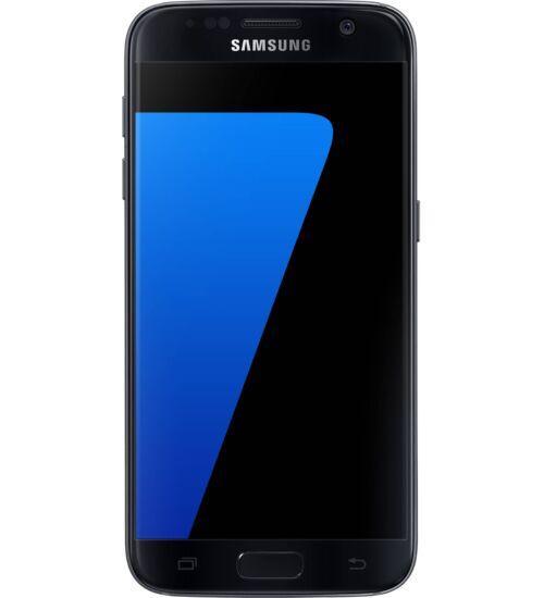Samsung G930F Galaxy S7 32GB fekete, Kártyafüggetlen, 1 év Gyártói garancia